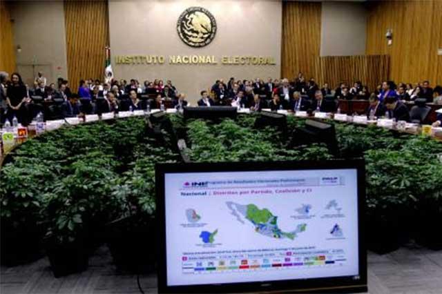Por estrategia, INE cedió espacios en el OPLE: PES