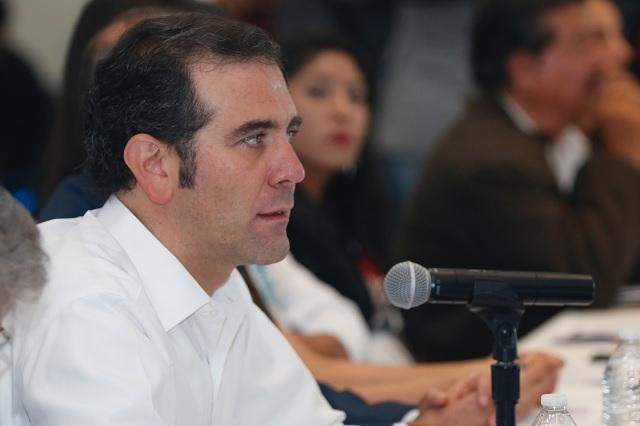 No hay focos rojos en la elección en Puebla: INE