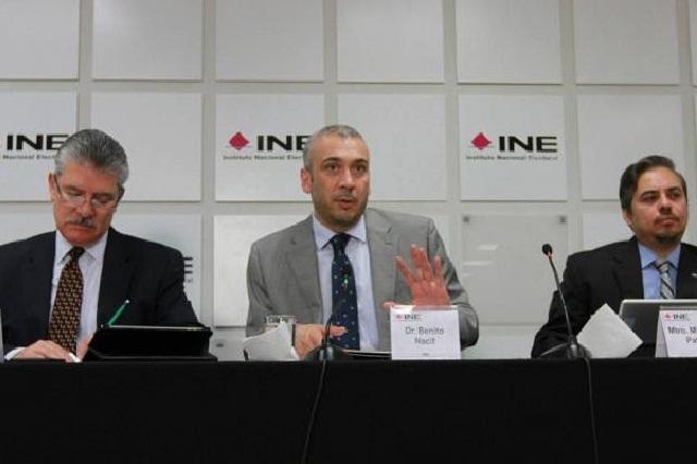 Exige el INE a partidos y candidatos respetar periodo de veda electoral