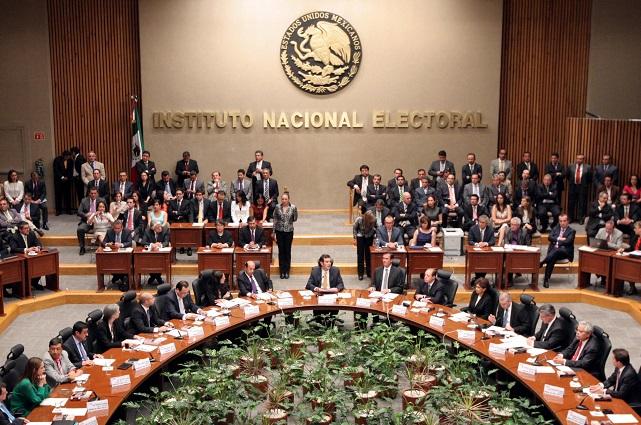 Palomea INE coalición de Morena, PT y PVEM en Puebla sin el PES
