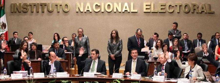 INE pide esperar los resultados oficiales del proceso electoral