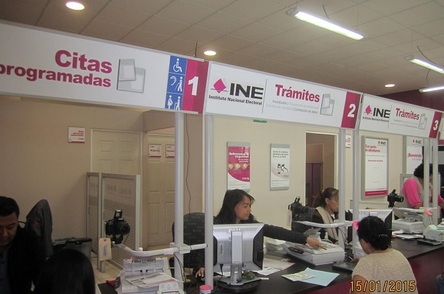 Junta Distrital de INE en Atlixco comienza sano retorno