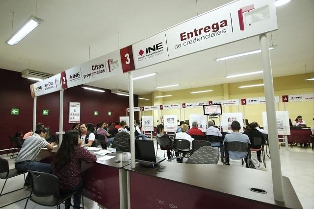 Inicia INE este 3 de agosto entrega de credenciales en sus módulos