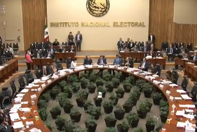 INE pide a partidos políticos respetar resultados de elecciones