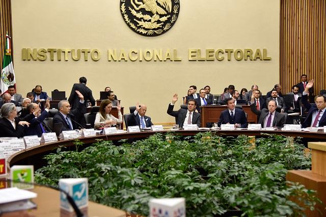 Durante el proceso electoral hubo 10 mil irregularidades, dice el INE