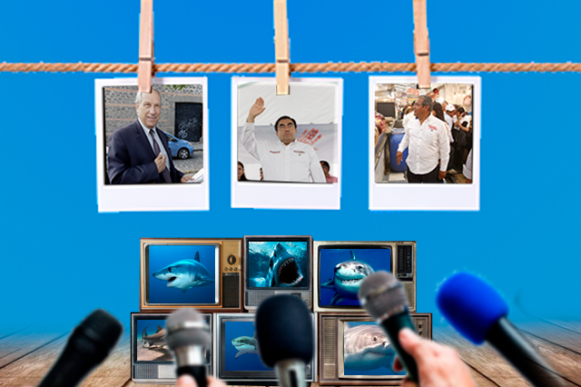 Así dan Radio y TV más cobertura a Barbosa en campaña, según INE