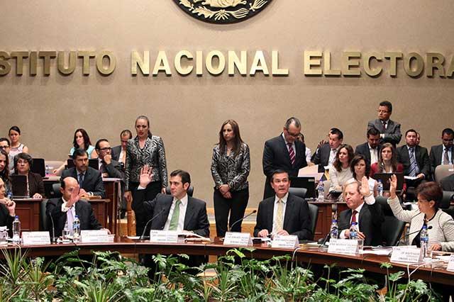Avala INE designación de consejeros para el estado