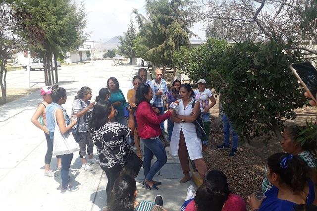 En Atlixco encuestadores del INEGI protestan por faltas al contrato