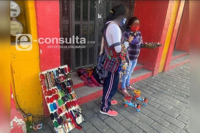 Angélica, una mirada a los 193 mil niños que trabajan en Puebla