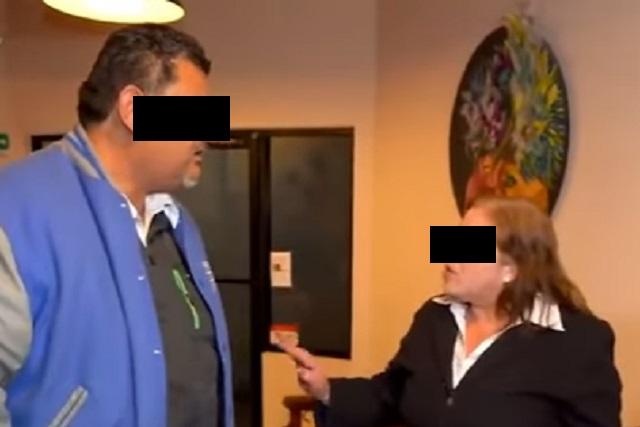 Mujer descubre que su esposo es infiel y él finge desmayo