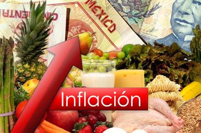 En octubre la inflación se ubica en 3.09%, su nivel más alto desde 2015