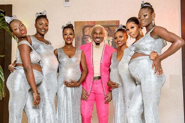 Influencer va a boda de su mejor amigo con sus 6 novias embarazadas