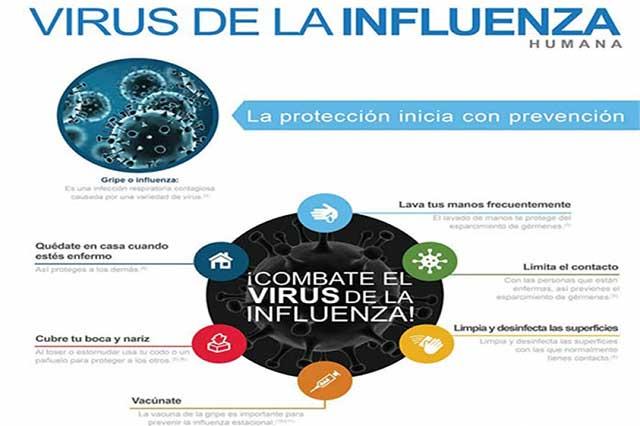 Influenza, una amenaza invernal a la salud de miles de personas