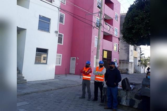 Tras 3 años del 19s reconstruyen departamentos en Atlixco