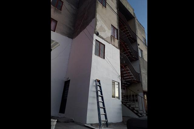 En Infonavit Atlixco reconstruyen 59 de 83 edificios dañados tras 19s
