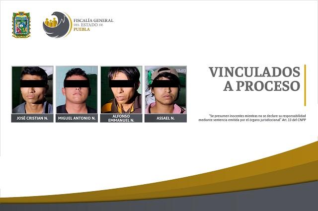 Vinculan a proceso 4 detenidos durante cateo en San Bartolo