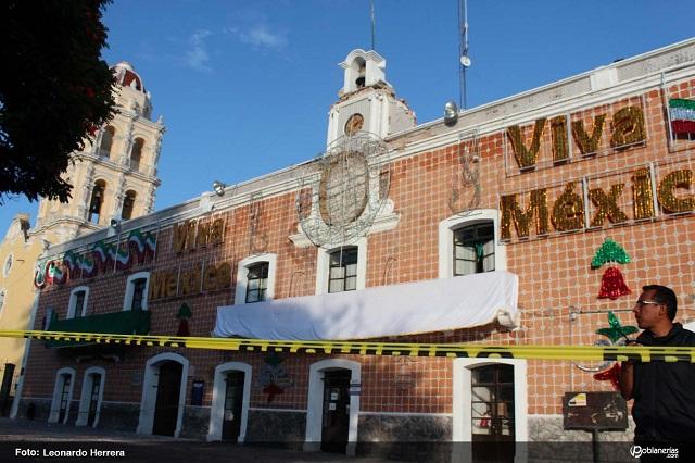 A 2 años del 19 -S no restauran Palacio Municipal de Atlixco