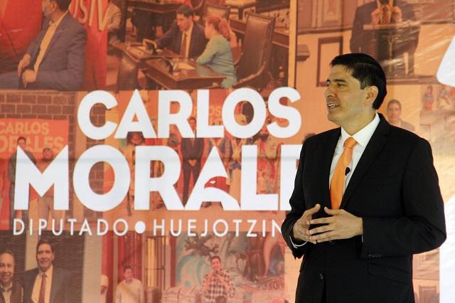 La ASE acusa al diputado Carlos Morales por operaciones simuladas