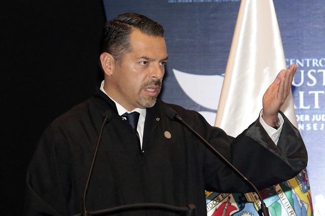 Presidente del TSJ no se descarta como gobernador interino