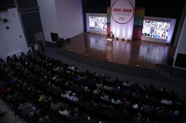 Fortalecer municipalismo, plantea Espinosa Torres en informe