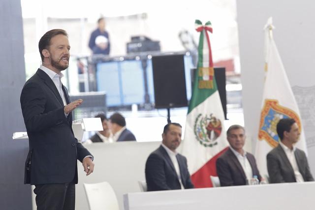 Resalta Banck herencias de Gali y Moreno Valle en su informe