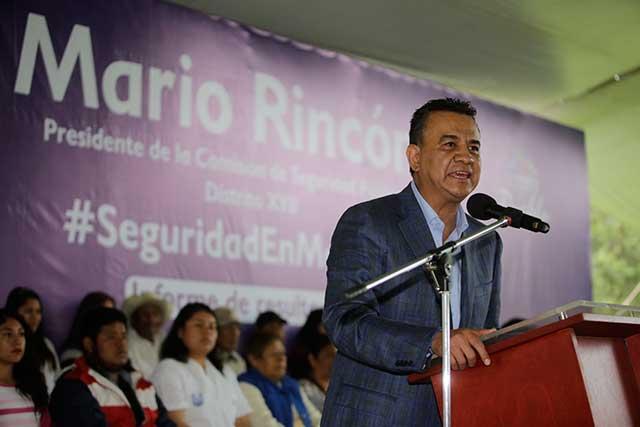 Justifica Mario Rincón promoción de su informe fuera de su distrito
