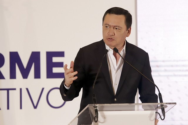 Osorio Chong ve viable una alianza opositora para el 2024