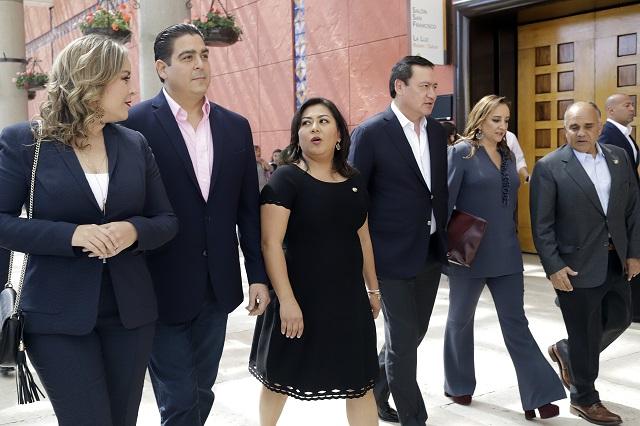Se minimizan índices delictivos en Puebla: Nadia Navarro