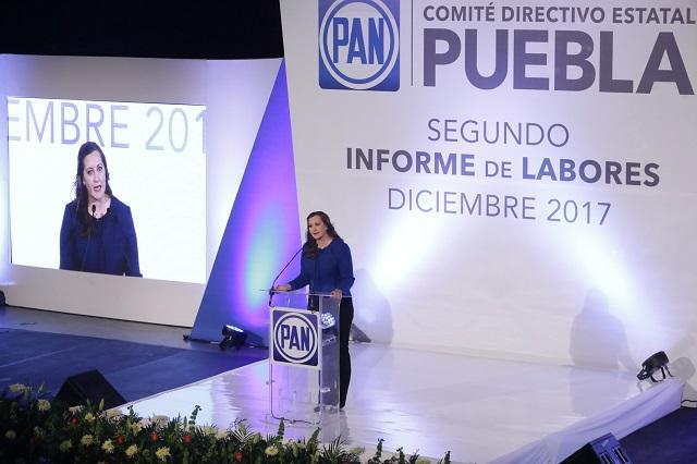 Destapan en informe a Martha Erika por el gobierno de Puebla