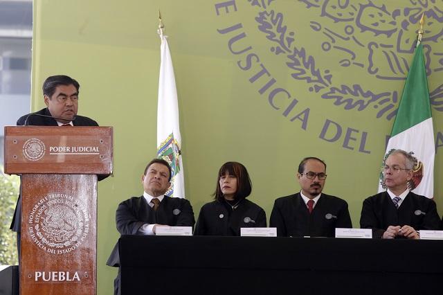 Reforma consensuada a la Ley Orgánica del TSJ, plantea Barbosa