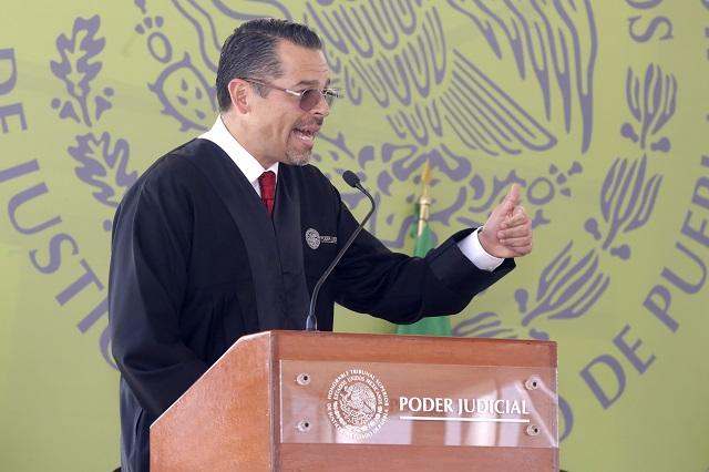 Por unanimidad reeligen a Héctor Sánchez al frente del TSJ