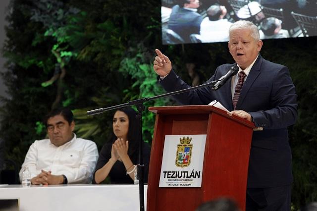 La batalla en Teziutlán, contra el desorden que dejó el PAN: Peredo