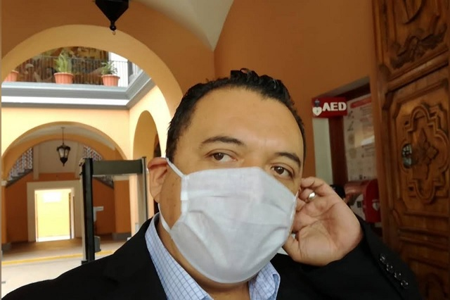 Edil suplente de Tehuacán prepara informe de 100 días de gobierno