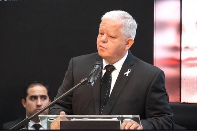 Carlos Peredo Grau rinde su segundo informe de gobierno