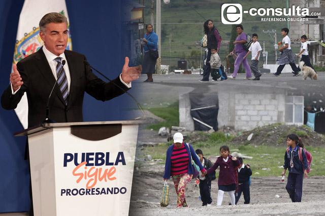 ¿Tiene Puebla menos pobreza como señala el informe de Gali?