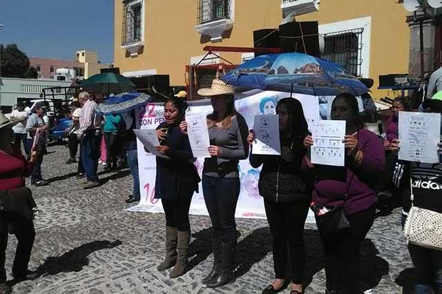 En marcha, la 28 de Octubre exige informes sobre asesinato de Meztli Sarabia