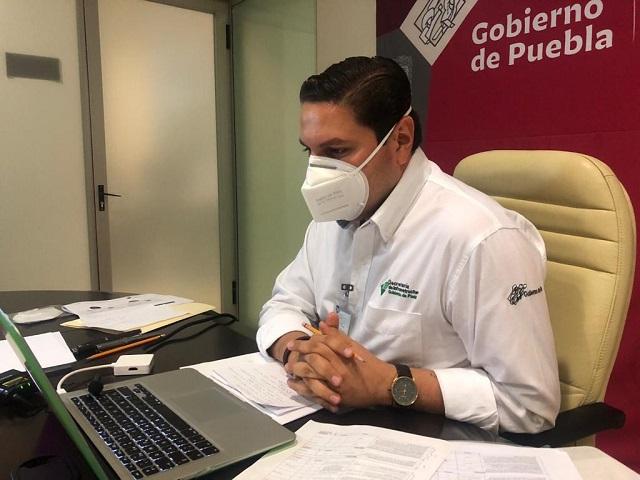 Obra pública en Puebla, según semáforo epidemiológico: Gámez