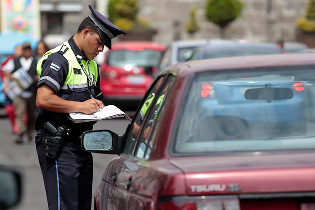 Aumentan 183% infracciones viales en invierno en Puebla: PF