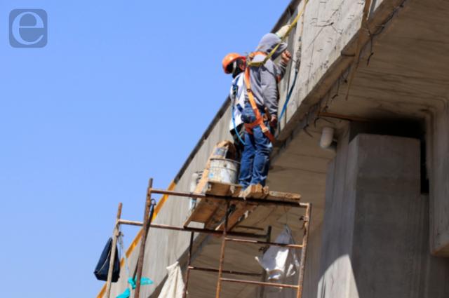 Recuperación de 11.8 % registra sector constructor en Puebla