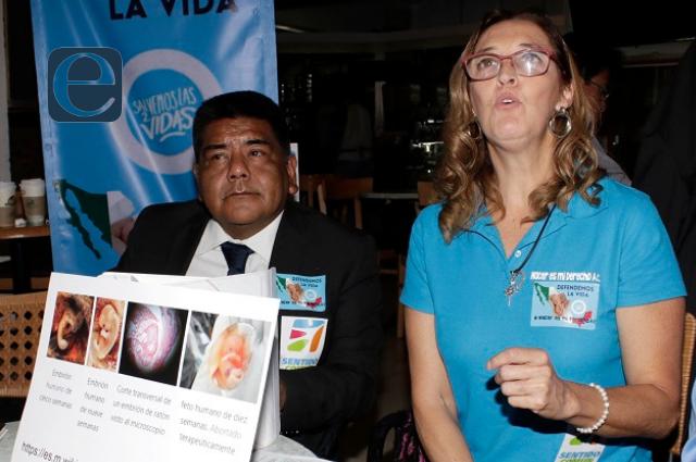 Grupo anti aborto pide a diputados rechazar presiones feministas