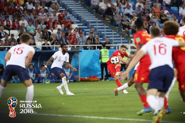 Bélgica sigue imparable: ahora dobló a Inglaterra 1-0