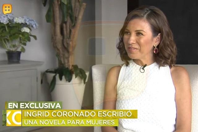 Ingrid Coronado niega tener contrato con Televisa