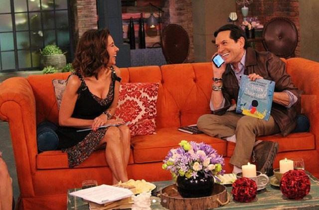 Ingrid Coronado reaparece en Televisa con Atala Sarmiento