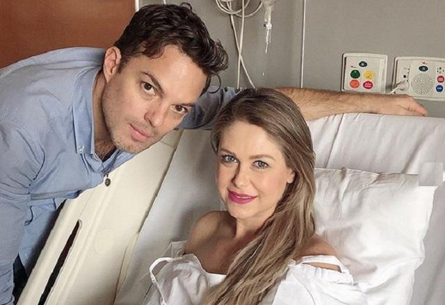 Actriz Ingrid Martz presenta a su bebe en redes sociales