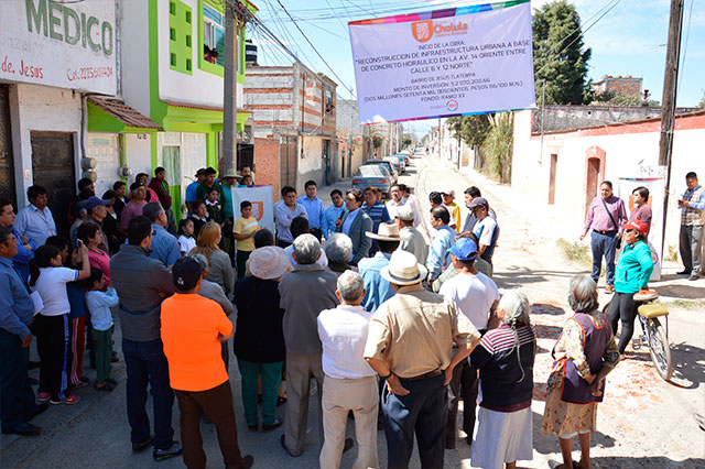 Inicia José Juan Espinosa obra en Barrio de Jesús por 2 mdp