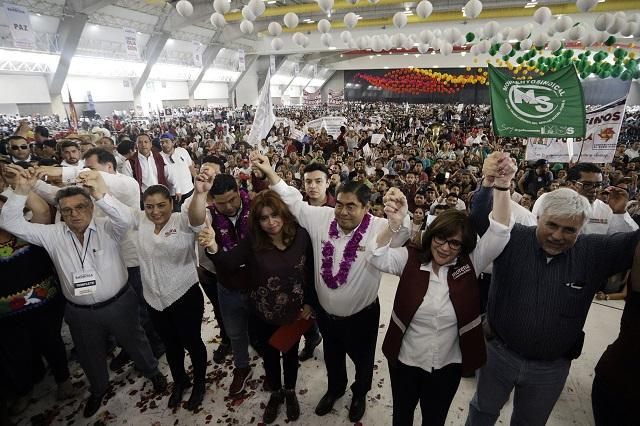 Plantea Barbosa una reforma a los 3 poderes de gobierno en Puebla