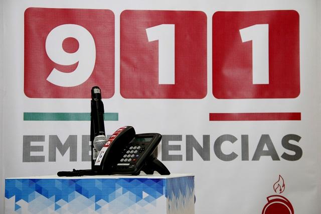 El 911 recibió al día 33 llamadas de poblanas víctimas de violencia