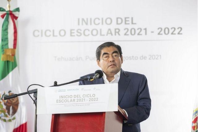 El regreso a clases es seguro: Miguel Barbosa Huerta