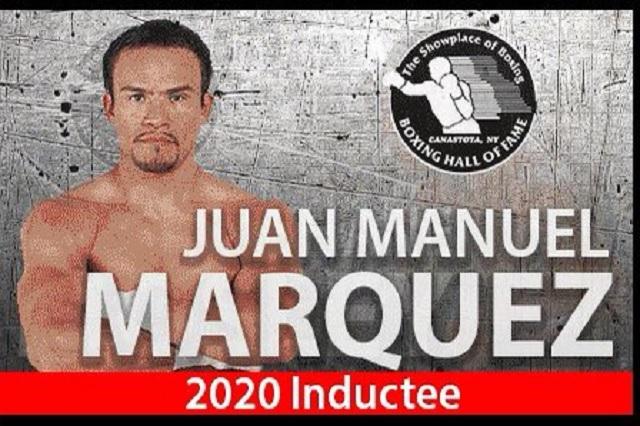 Inmortalizarán a Juan Manuel Márquez en el Salón de la Fama