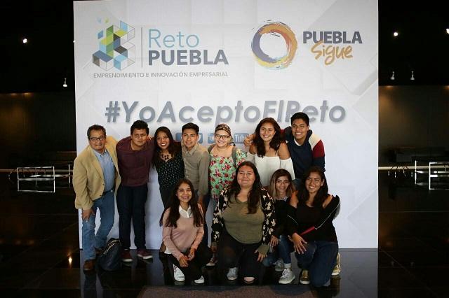 Presentan Reto Puebla, de innovación para pequeñas y medianas empresas